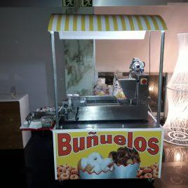 Carro Buñuelos, Gofres, Palomitas y Algodón