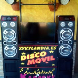 Disco Movil con Karaoke