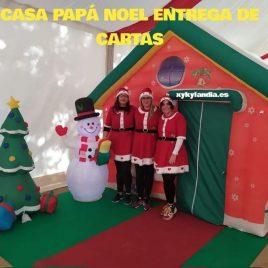 Entrega de cartas papá Noel