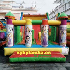 Castillo con rampa Princesa