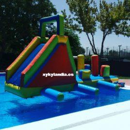 Interior o filo de piscina